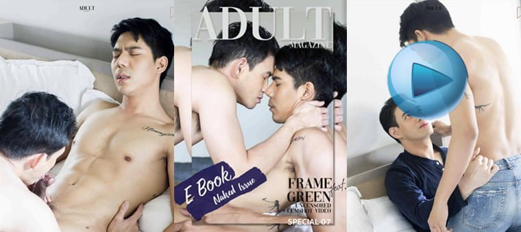 ADULT Special NO.07 FRAME & GREEN——万客写真+视频(2个)