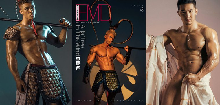 EMD issue 3 – A JA TREE IN THE WIND 树临风——万客写真