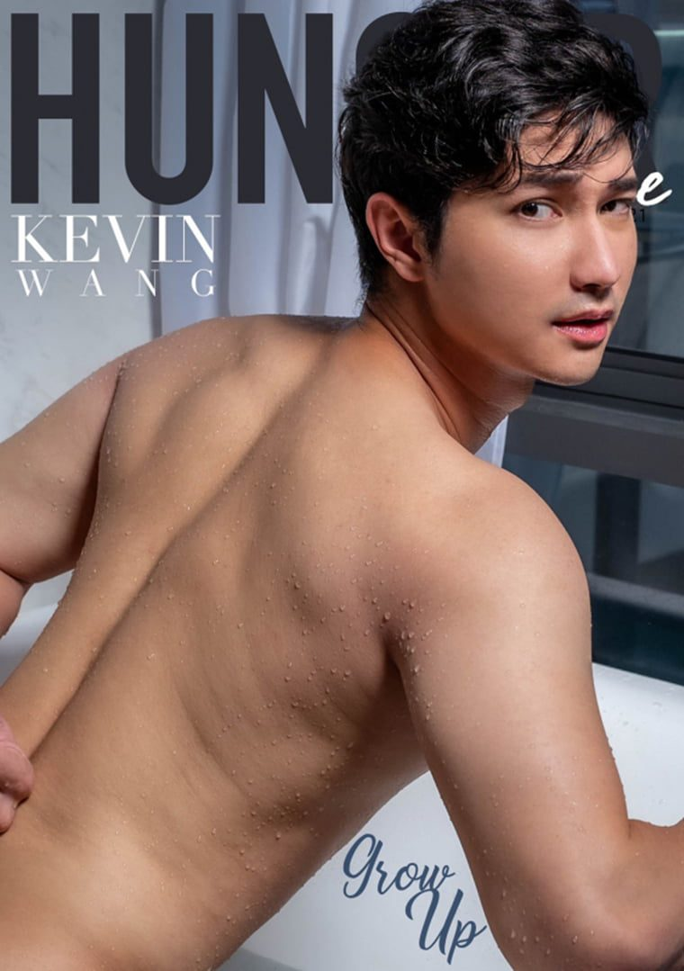 Hunger Homme No.13 KEVIN WANG——万客写真插图