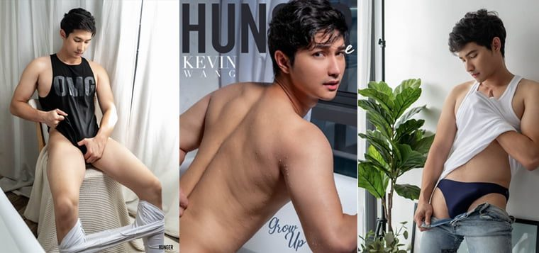 Hunger Homme No.13 KEVIN WANG——万客写真